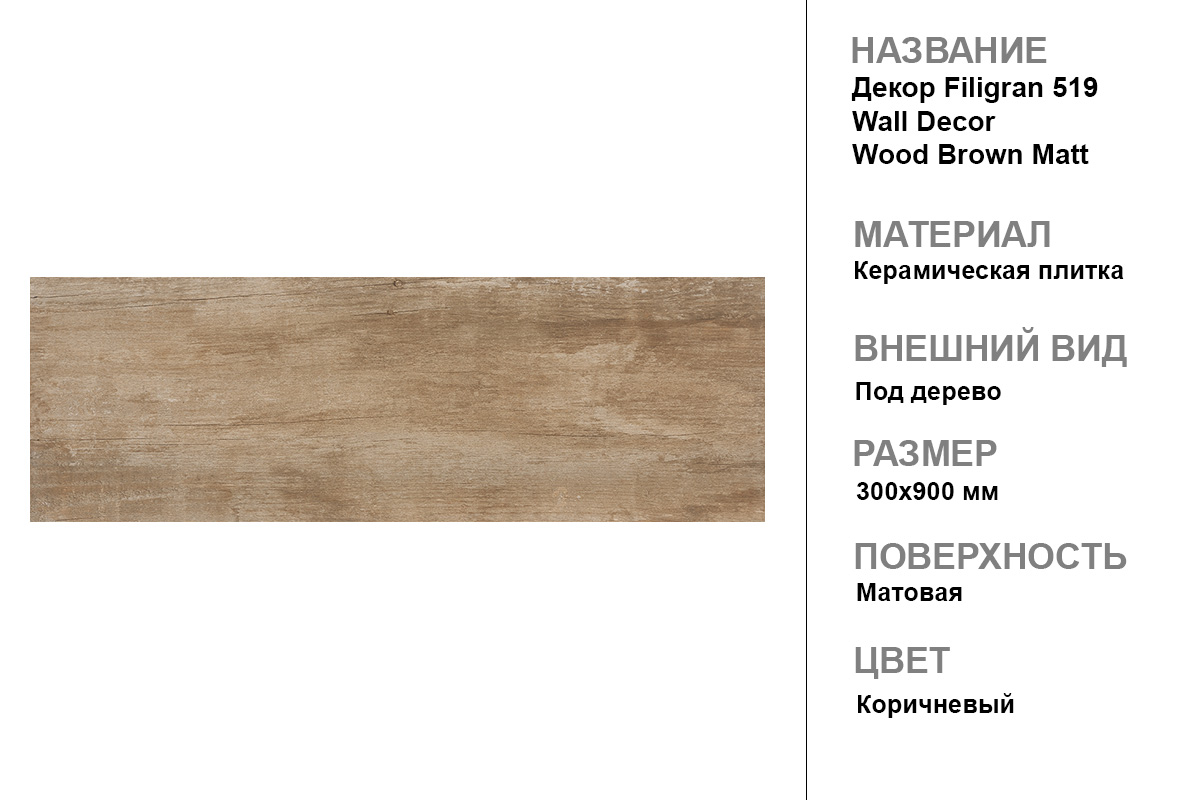 Декор Filigran 519 Wall Decor Wood