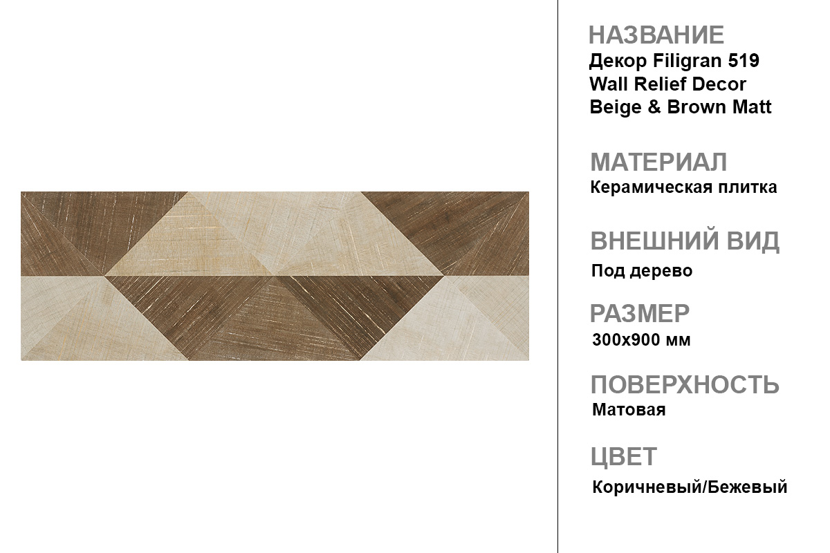 Декор Filigran 519 Wall Relief Decor
