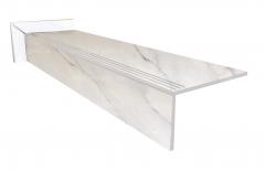 Купить ступень из керамогранита Bianco Avira
