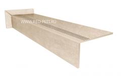 Купить ступень из керамогранита BETON BEIG под бетон 1200х300 мм со скидкой со склада в Москве