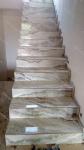 Купить керамогранитные ступени Oniks White под оникс