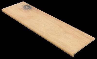 Купить ступень из керамогранита фронтальная Exagres Brigantina 01 1200х330х11мм с капиносом
