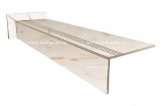Купить ступень из керамогранита Carrara 1200х300 в Москве