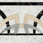 Купить Керамогранит Charme Extra Rosone декор 590x590 в интернет магазине Red Plit