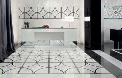 Купить Керамогранит Charme Floor Inserto Loop Lux декор 600x600 в интернет магазине Red Plit