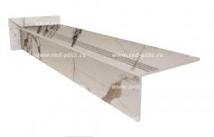 Купить ступень из керамогранита 1200х300 HAVANA Full lappato под мрамор