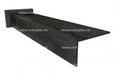 Купить ступени из керамогранита 1200х300 Коллекция Heat Steel Lappato под металл для лестниц на второй этаж дома
