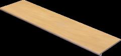 Купить Ступень из керамогранита фронтальная Exagres Maison Honey 1200х330х11мм с капиносом