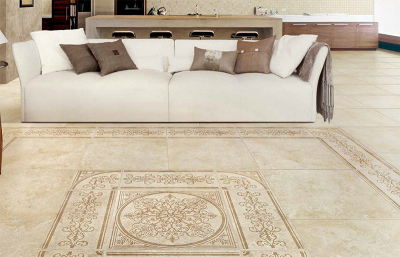Купить Керамогранит Natural Life Stone Inserto Bloom декор 600x600 в интернет магазине Red Plit