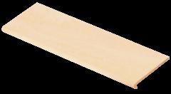 Купить Ступень из керамогранита фронтальная Venatto Pulido Peldano Beige Maya 1600х320х11мм с капиносом