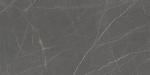 Купить готовые ступени из керамогранита, прямые ступени София Серый Антрацит  1200х300 для лестниц