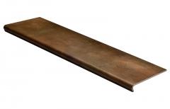 Купить матовые ступени из керамогранита с капиносом для лестниц Seranit, Soft по самым низким ценам