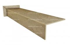 Купить штампованные ступени из керамогранита Progetto A GSR0201