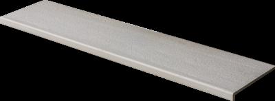 Купить Ступень из керамогранита фронтальная Venatto Texture Peldano Grain Dolmen 1600х320х11мм с капиносом