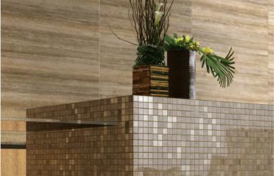 Купить Керамогранит Travertino Floor Lux мозаика 292x292 в интернет магазине Red Plit
