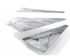 Заказать изготовление Забежных и угловых ступеней из керамогранита у производителя