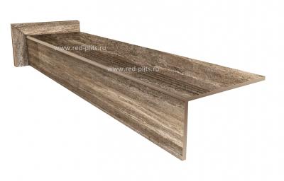 Купить готовые ступени для крыльца из керамогранита 1600х300 Verso