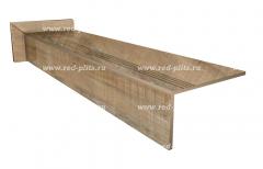 Купить или заказать ступени из керамогранита Коллекция Wood Ego бежевый в Москве по низкой цене от производителя со скидкой